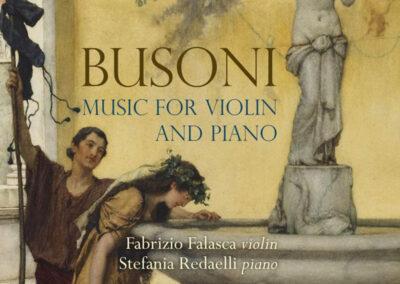 BUSONI Violin & Piano