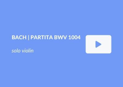 J.S. Bach | Allemanda