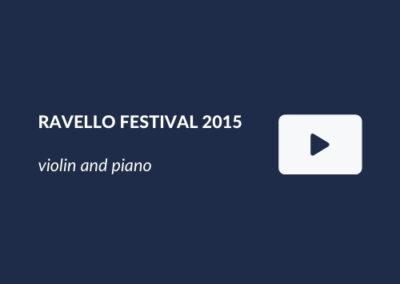 Ravello Festival 2015