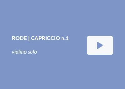 P. Rode | Capriccio n.1