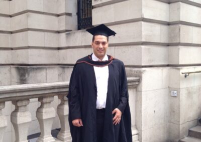 Graduation day at the Royal Academy of Music in London