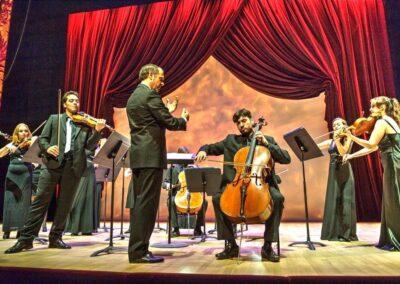 Salle Garnier, concert