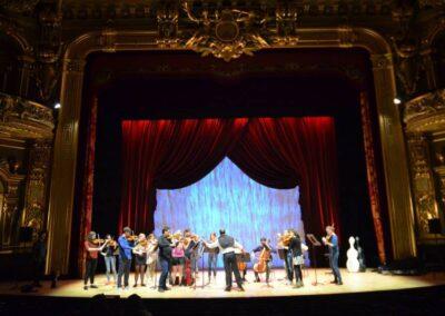 Salle Garnier, rehearsals