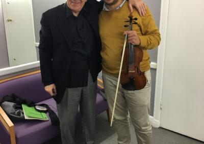 Fabrizio Falasca & Yuri Temirkanov