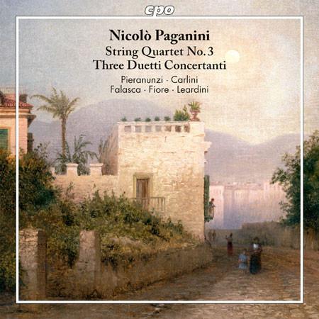 CD Paganini Quartetto e Duetti